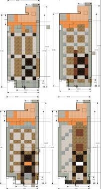 フロアタイルのデザイン